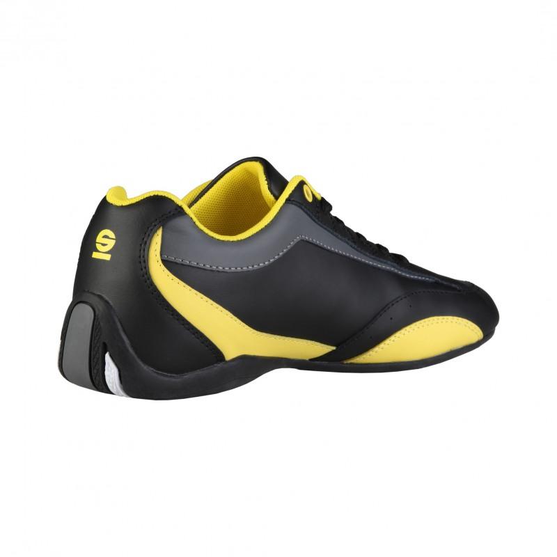 chaussure sparco mod u00e8le zandvoort  en cuir synderme  noir