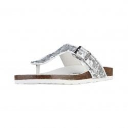 Sandales femmes SUPERGA, argent