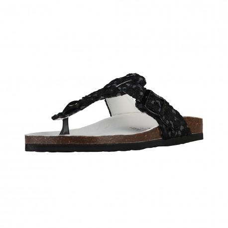 Sandales femmes SUPERGA S11P561 tissu coloris noir
