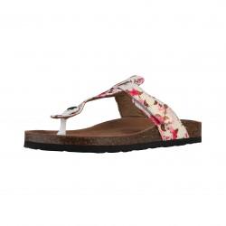 Sandales femmes SUPERGA S11P564 tissu coloris rose