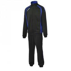 Survêtement homme KAPPA, Noir/bleu, modèle BOLZANO