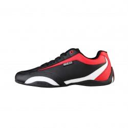 Sneakers SPARCO, modèle ZANDVOORT, noir et rouge