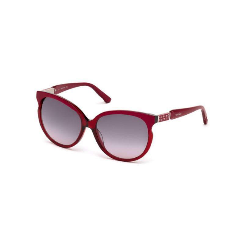 eb2f49ac709cd9 lunettes de soleil Femme Swarovski SK0081 71T, rouge prix discount