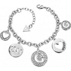 Bracelet Guess femmes UBB51430 type pendentifs, breloques rondes