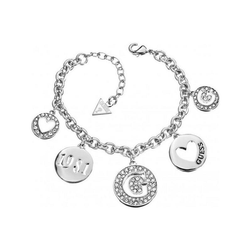 Bracelet Guess femmes type pendentifs, breloques rondes. Loading zoom c2b7e4e4221