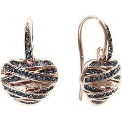 Boucle d'oreille GUESS coeur, UBE21584, bijoux Guess
