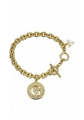 Bracelet Guess UBB51427, avec pendentif collection G-GIRL, doré