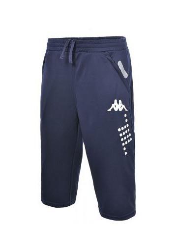 Pantalon 3/4, homme kappa, modèle vega, Bleu
