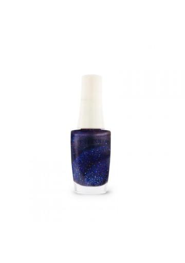 Vernis à ongles bleu nuit nacré, Bestcolor S49