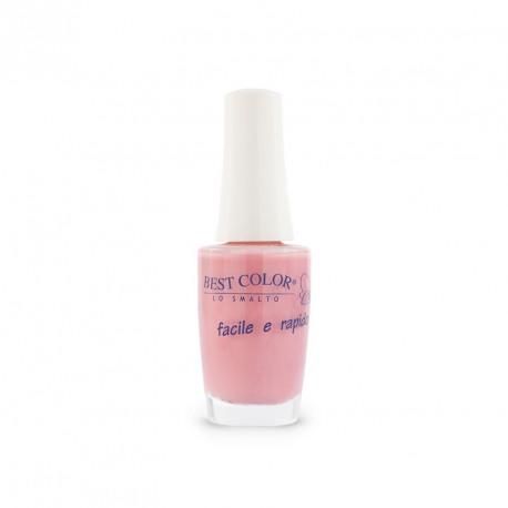 Vernis à ongles couleur rose antique nacré, Bestcolor S22