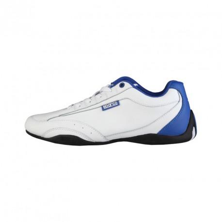 Sneakers SPARCO, modèle ZANDVOORT, blanc et bleu royal