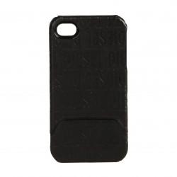 Coque étui DIESEL Twin Slider pour iPhone 4 / 4S coloris noir avec logos DIESEL imprimés