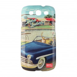 Coque étui Diesel The Diesel Industry pour Samsung Galaxy S3, impression IML, 50's Post card