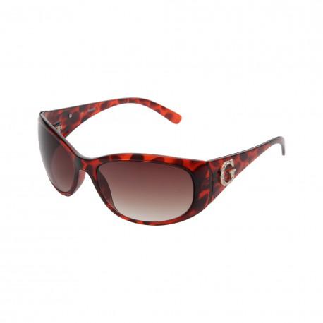 Lunettes de soleil GUESS couleur rouge pour femmes GU6389 FTO