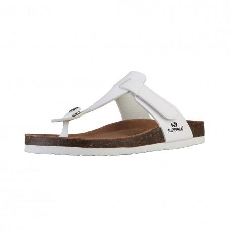 Sandales femmes SUPERGA, Blanc,