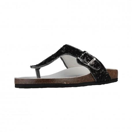 Sandales femmes SUPERGA, noir